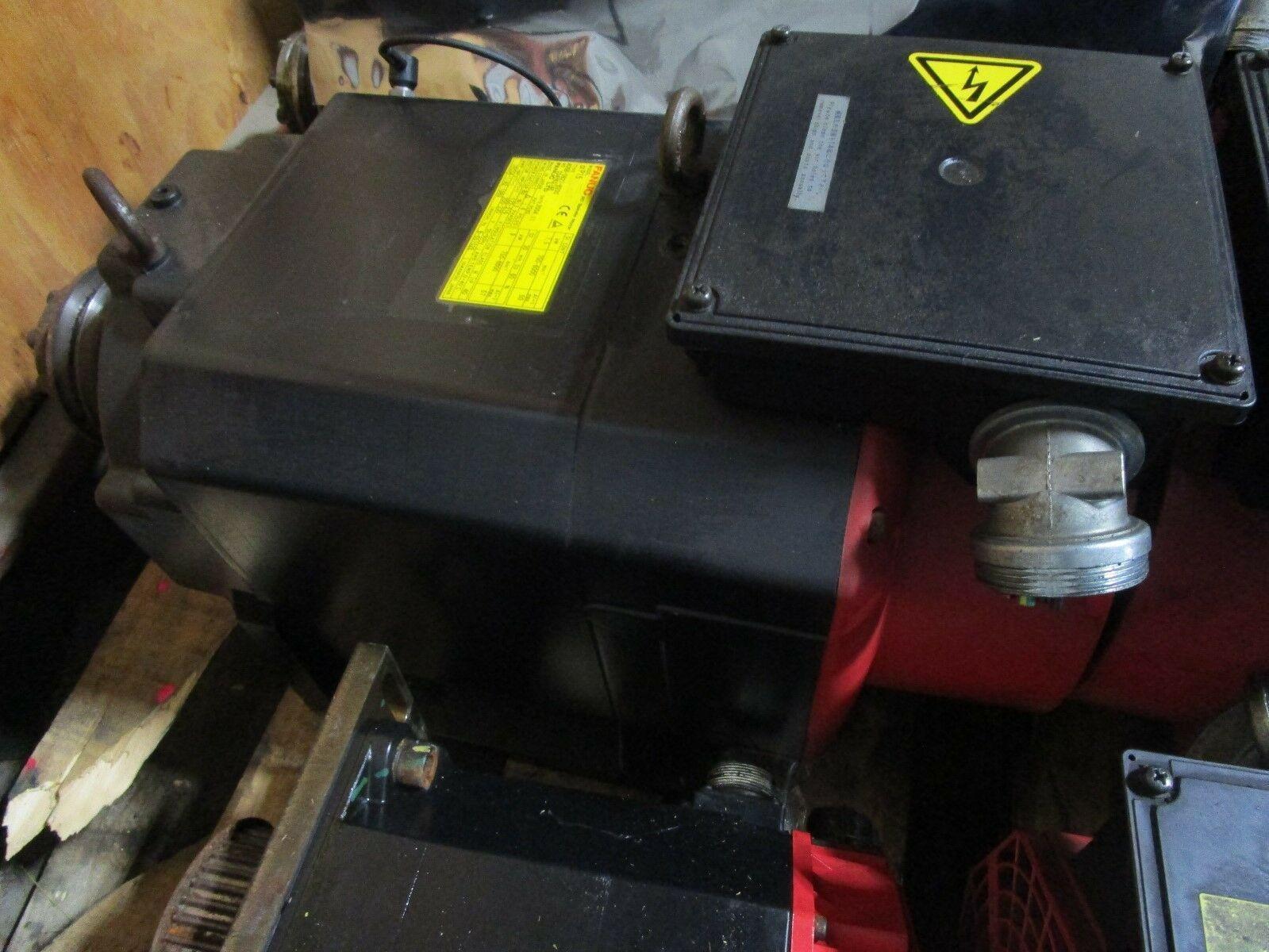 Fanuc Spindle Motor Alpha-P15 A06B-0827-B200