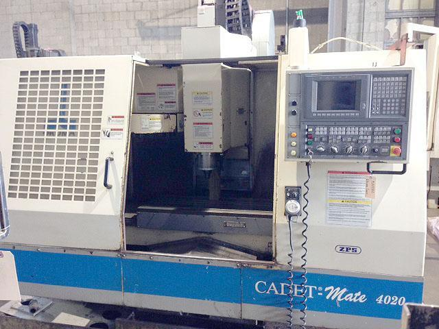 "OKUMA CADET MATE 4020, OSP 700M CNC, X=40"", Y=20"", Z=20"", 40 Taper Spindle, 20 ATC, 8,000 RPM, Thru Spindle Coolant, New 1999."