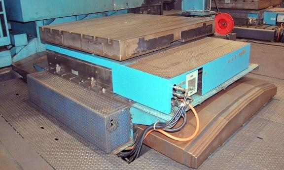 Giddings & Lewis Model 360P CNC In-Feeding Rotary Table, Mfg. 2001, 72
