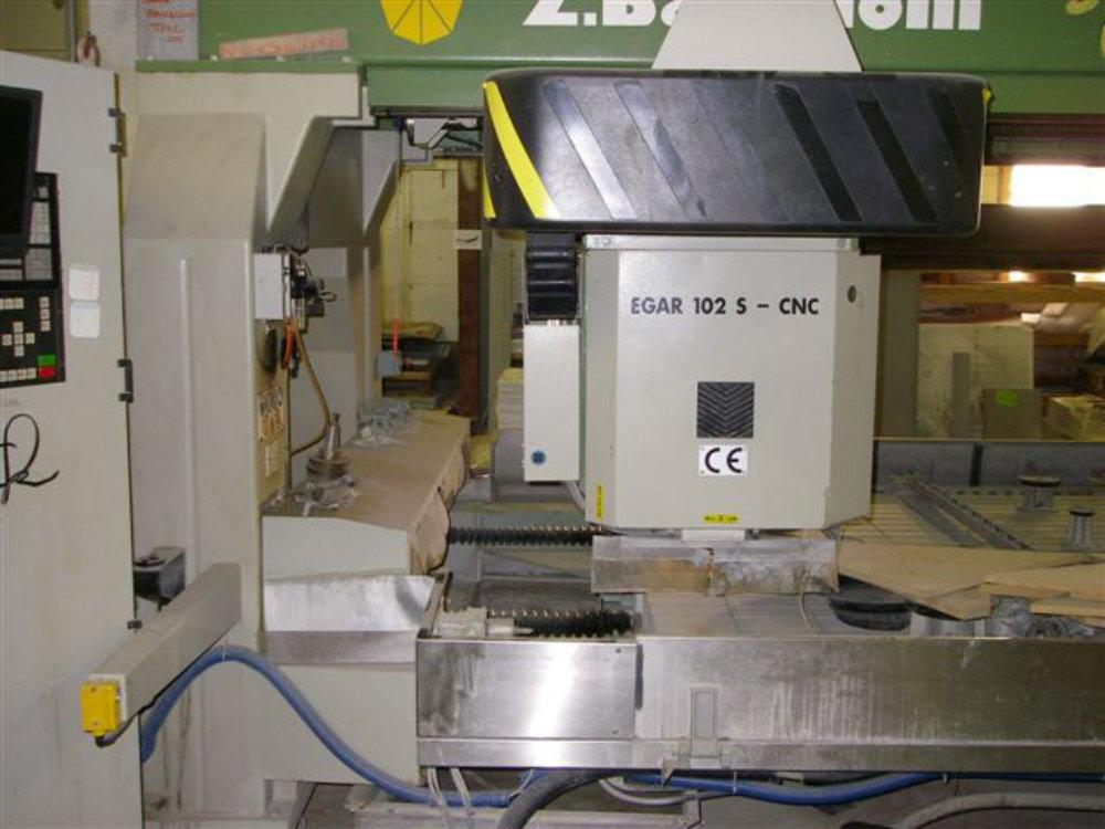 USED Z.BAVELLONI EGAR CNC HORIZONTAL GRINDING MACHINE (W1208), Model 102-S, Stock No. 10437