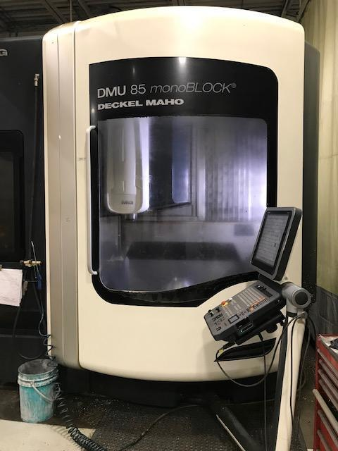 DMG Mori DMU 85 monoBLOCK - CNC Vertical Machining Center