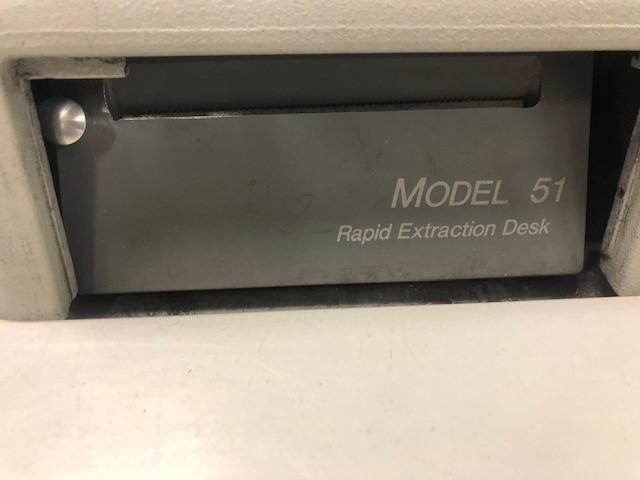 Opex Model 51 Rapid Extraction Desk