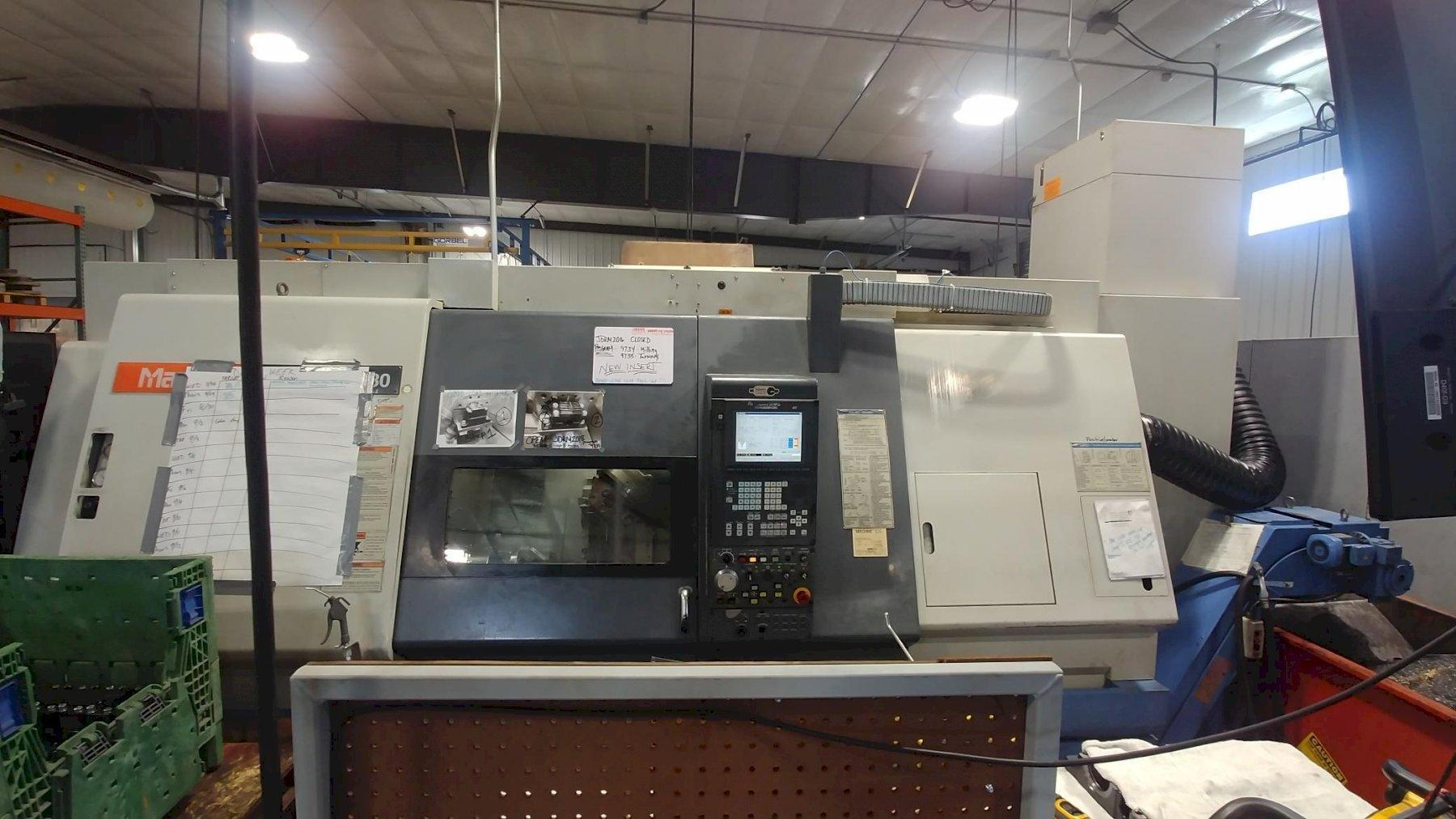 "Mazak Integrex 30Y/1500 CNC Turning Center; 62"" Length, 20"" Swing, 3"" Bar cap, 10"" Chucks