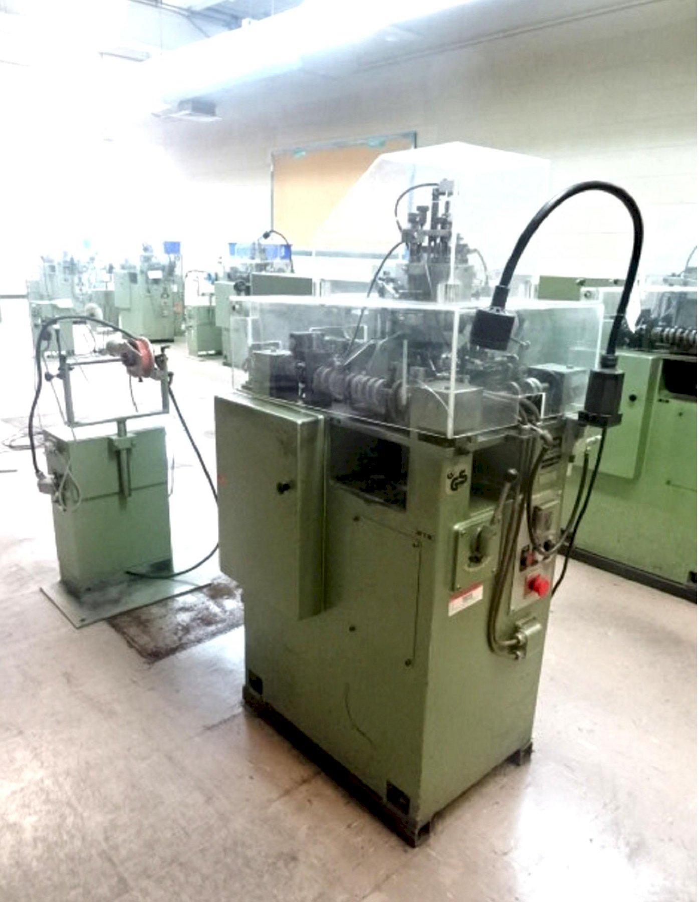 Wafios Model FTU-0 Spring Coiling Machine
