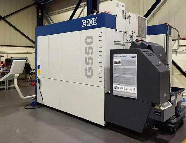 GROB MODEL G550-1851 5-AXIS HORIZONTAL MACHINING CENTER