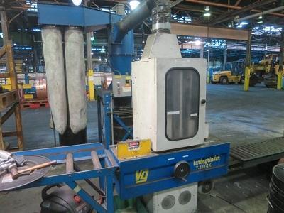 VANGROENWEGHE TURBOGRINDER TYPE T-300-2K BELT GRINDING MACHINE   Our stock number: 113294