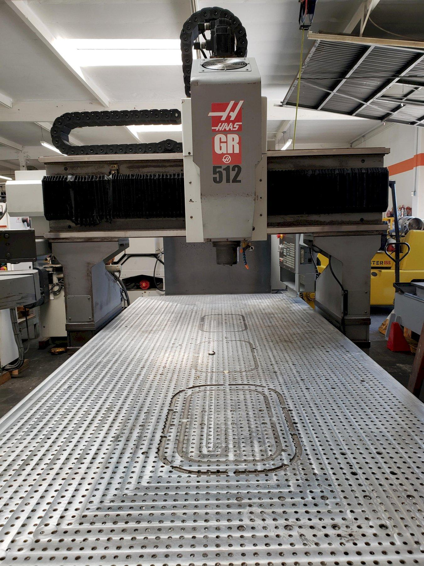 Haas GR-512 CNC Gantry Router 2005 with: Extended Z-Axis 6