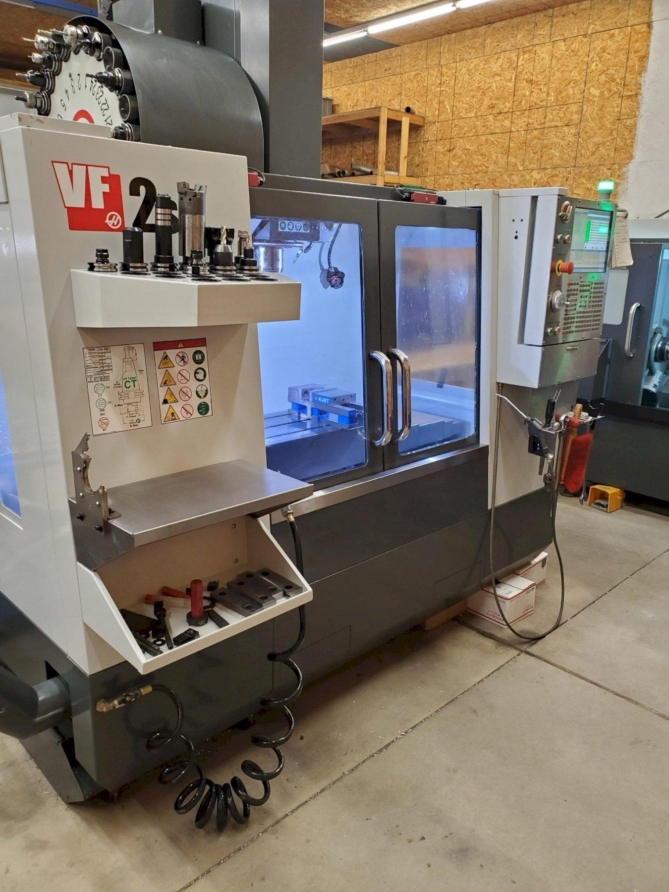 Haas VF2SS CNC Vertical Machining Center, 12K Spindle, 30