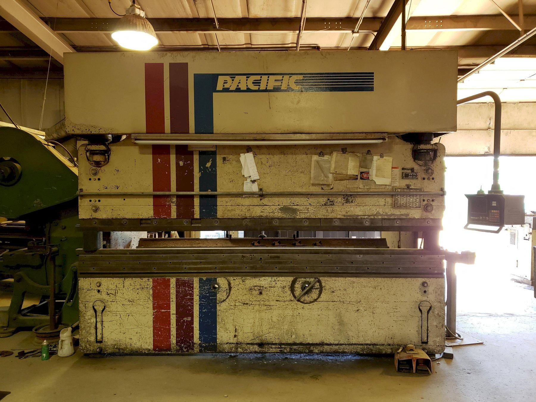 175 TON X 12' PACIFIC MODEL J175-12 II CNC HYDRAULIC PRESS BRAKE. STOCK # 2100420