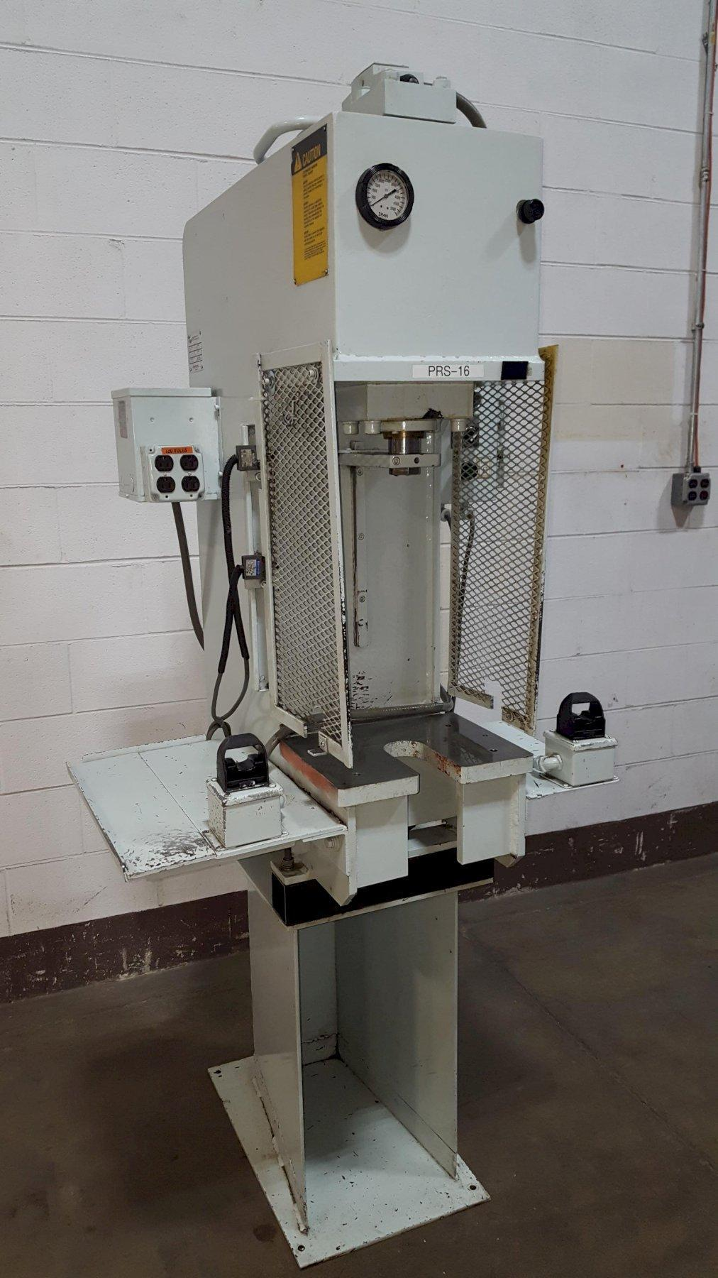 8-Ton Phoenix Model PHN-8 Bench Mounted Hydraulic Press