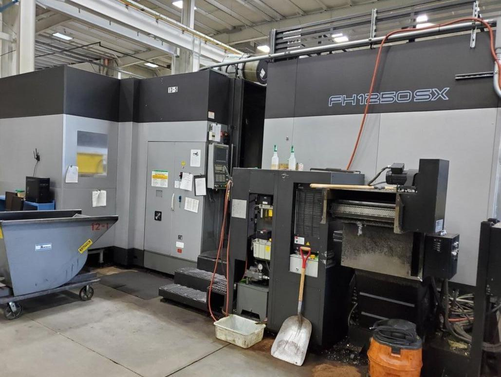Toyoda FA-1050S (4) Axis CNC Horizontal Machining Center