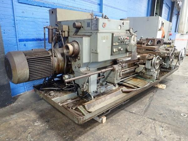 3A WARNER & SWASEY MODEL #3500 TURRET LATHE: STOCK #71826