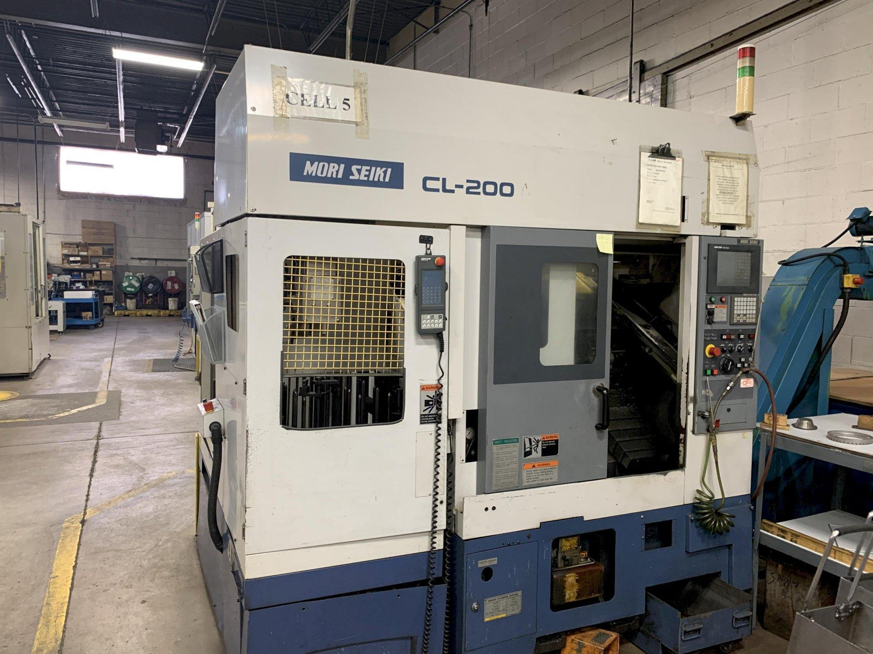 MORI SEIKI CL-200A CNC LATHE WITH GANTRY LOADER