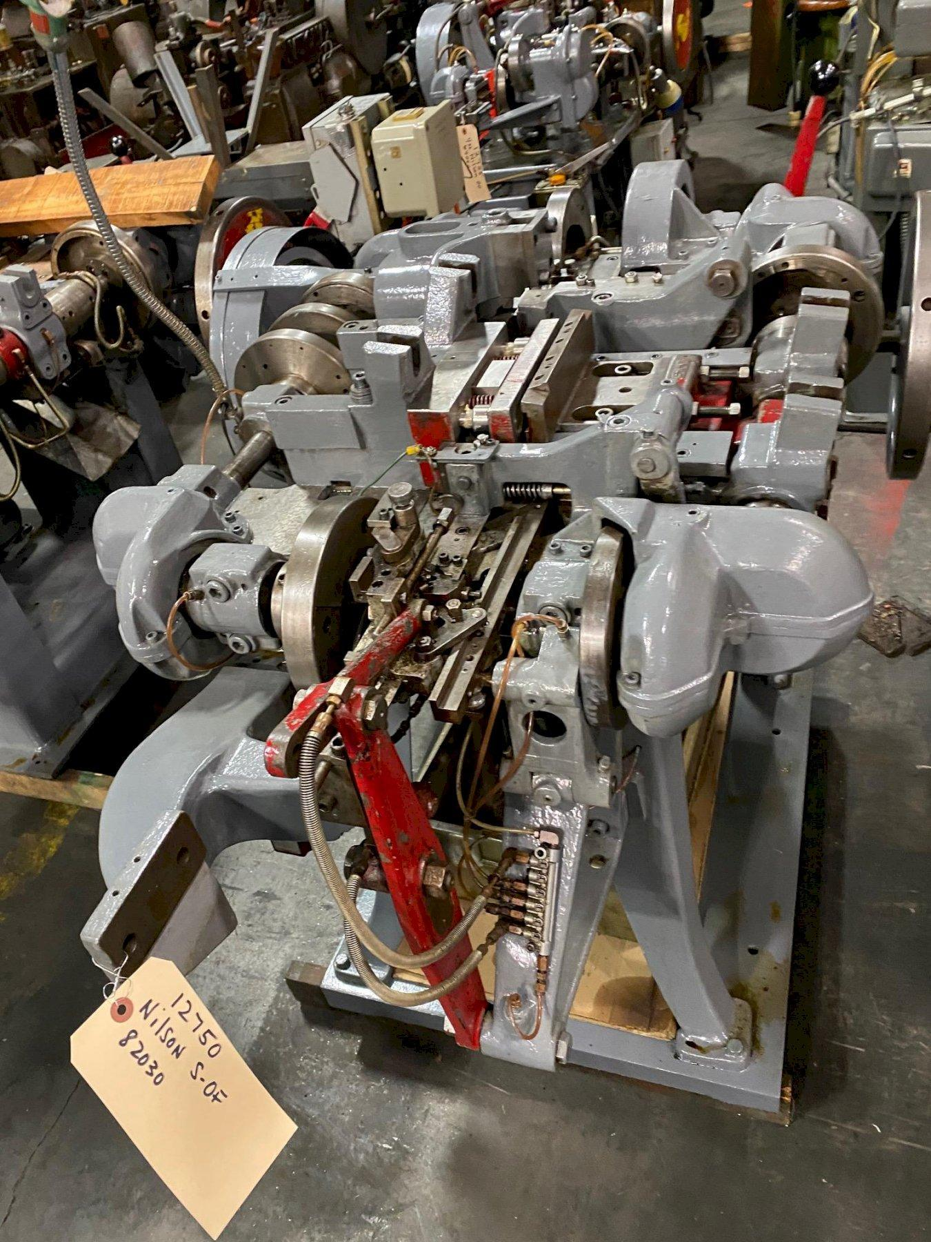 Nilson Model S-0F Fourslide Wire Forming Machine