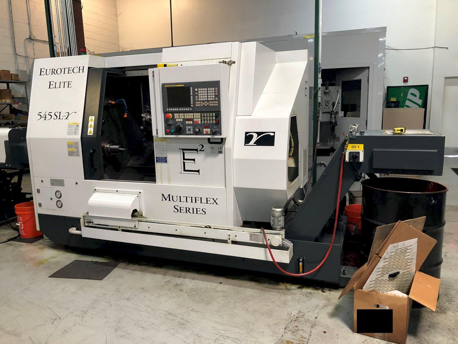 2016 EUROTECH ELITE MULTIFLEX 545SLY  TWIN-SPINDLE CNC TURNING CENTER