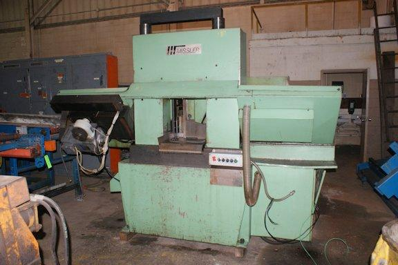 """USED MISSLER AUTOMATIC BANDSAW, Model DEB420, 16-1/2"""" x 16-1/2"""", Stock No. 8464"""
