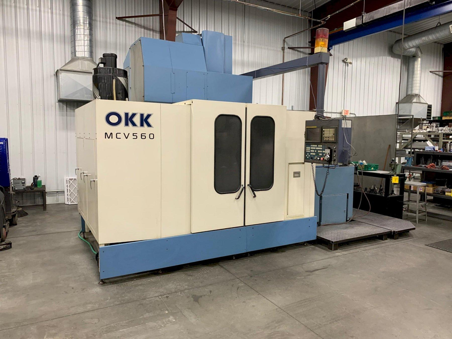 OKK MCV 560 VERTICAL MACHINING CENTER