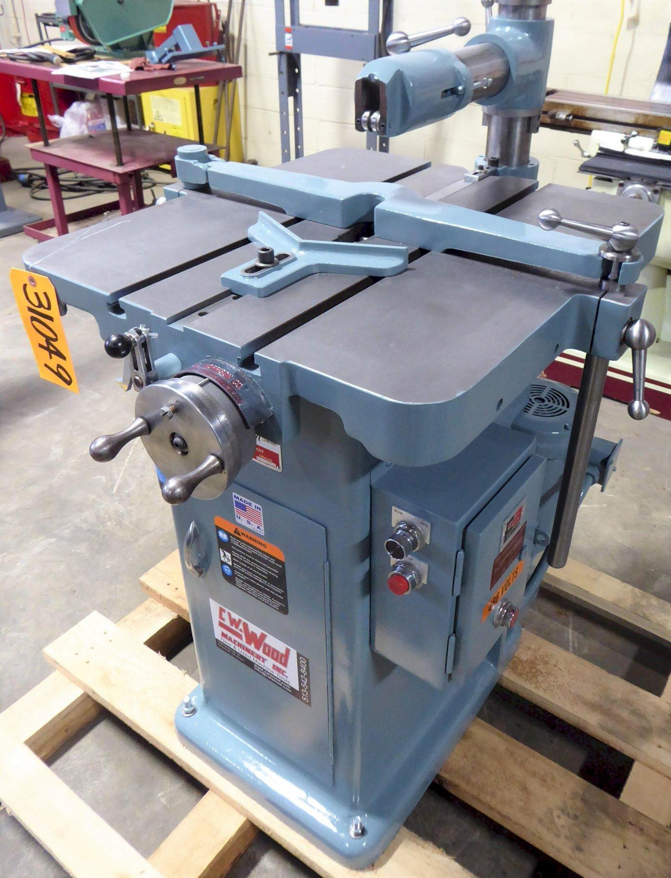 1-1/4″ W. x 9″ L., MORRISON Keyseater 1/16″ to 1-1/4″ Capacity, 24″ x 27″ Table, Factory Rebuilt August 2021