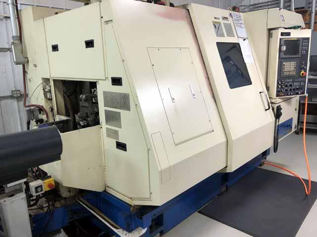 38mm (1.5) Tsugami Model TMU-1 Swiss Type Multi Tasking CNC Lathe