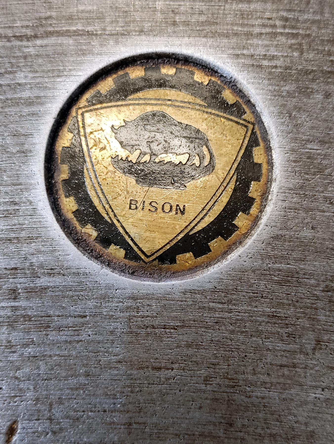 """USED, 25"""" BISON 3-JAW CHUCK"""