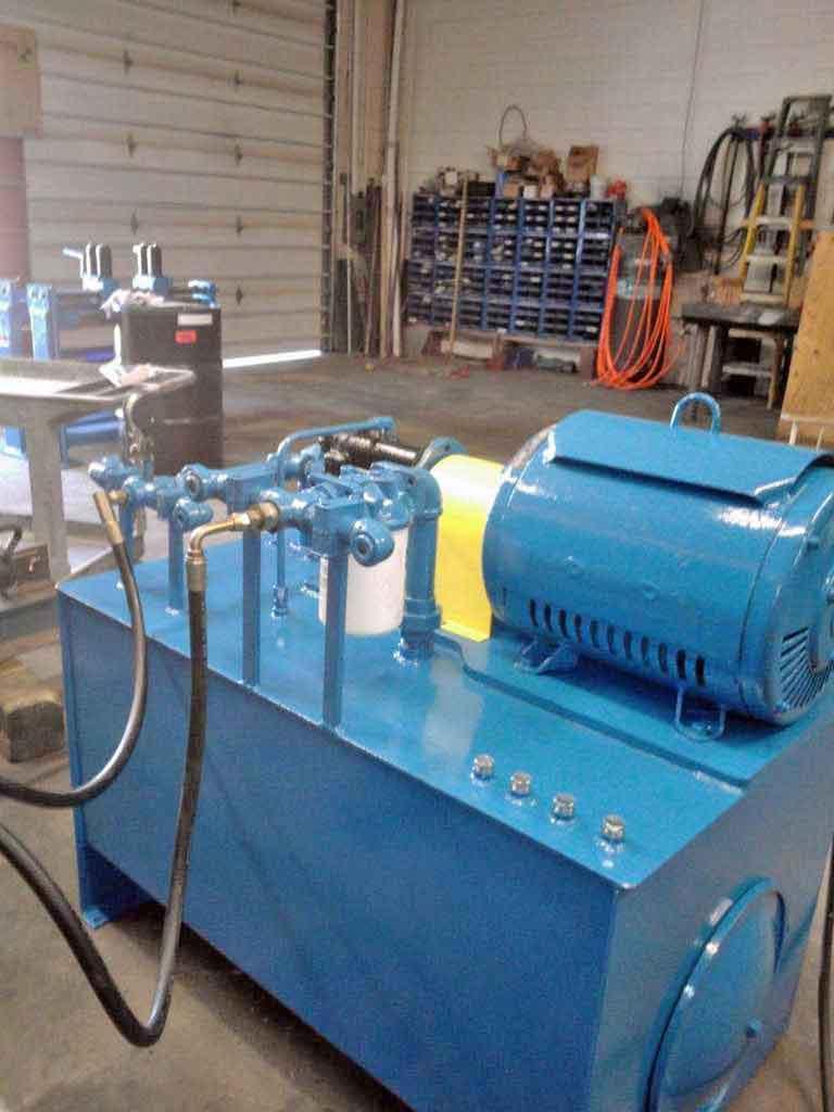 30 HP Hydraulic Unit, Custom