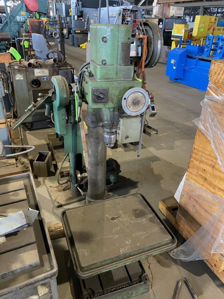 BOICE CRANE Column Drill Press, Model: GS30/2