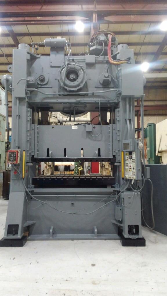 400 Ton VERSON S2-400-84-48T, Straight Side Press, New 1990