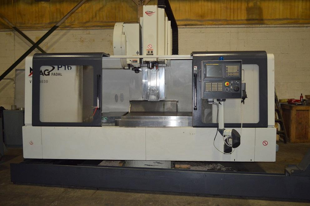 "Fadal 6030HT, Fanuc 18iMB, 60""/30""/30"" Travels, 10K Spindle, CT40, 24 ATC, Coolant Thru Spindle, Rigid Tapping, Air/Oil Spindle, Chip Conveyor, Transformer, Handwheel, 2008"