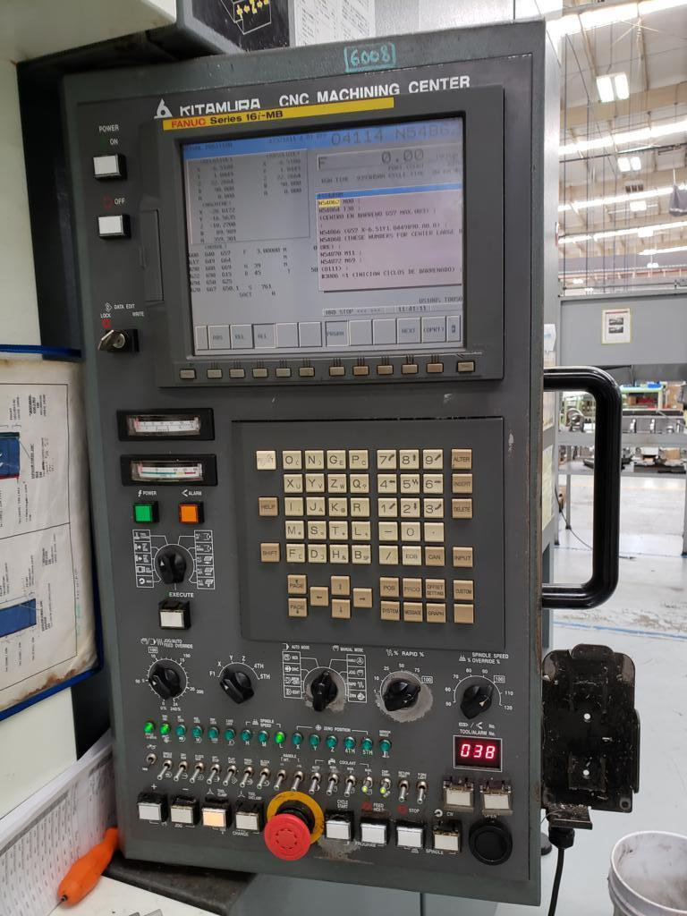 Kitamura MyCenter HX630i CNC Horizontal Machining Center