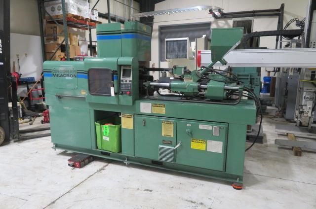 Cincinnati Milacron Used VSX33-1.08 Horizontal/Vertical Injection Molding Machine, 33 US ton, Yr. 1995, 1.08 oz., 460V