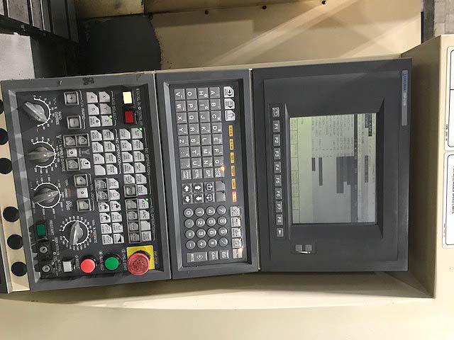 """OKUMA CROWN V-4018, OSP U10M CNC, 48""""x20"""" Table, X=40"""", Y=18"""", Z=18"""", 12000 RPM 20 ATC, New 2000."""