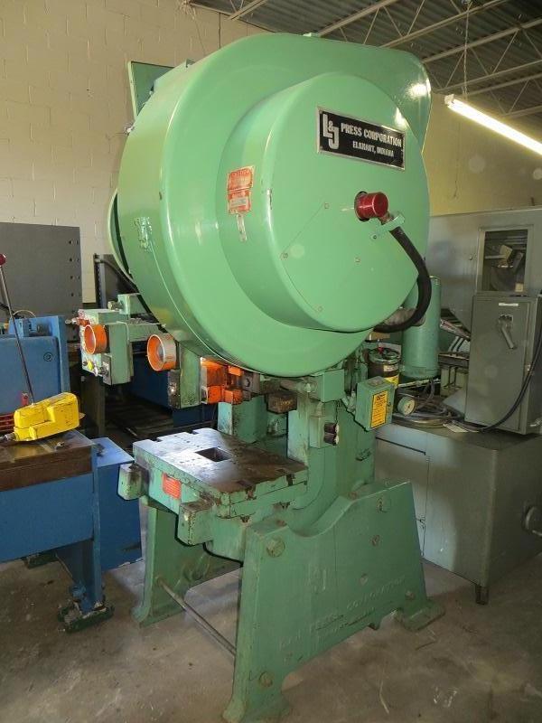 36 Ton L & J OBI Power Press Air Clutch Model 36