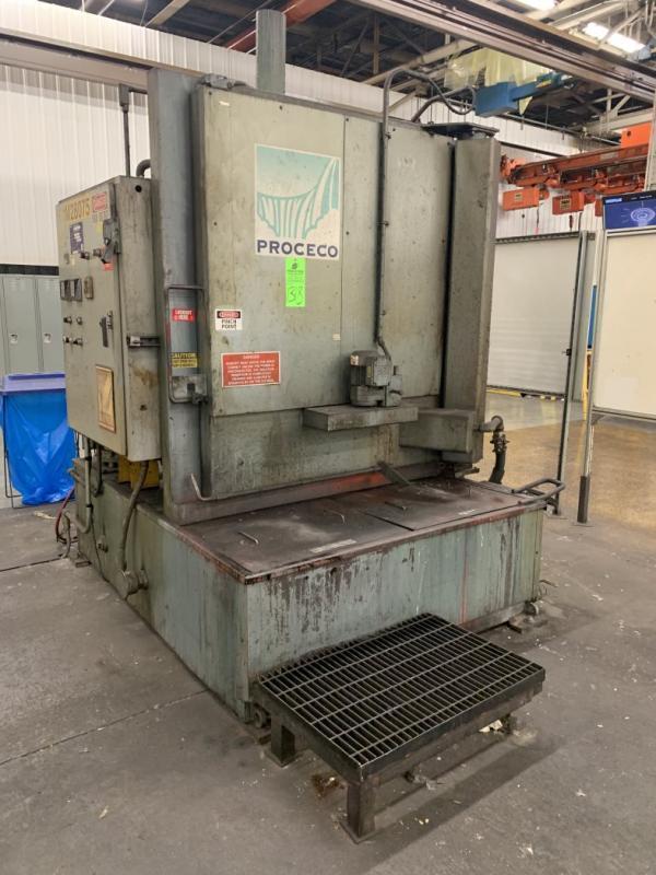 Proceco HD 42x48E, 2500-BO-FH Electric Parts Washer