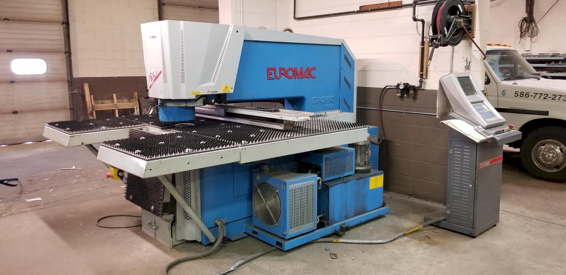 2009 Euromac BX1000 CNC Hydraulic Punching Machine