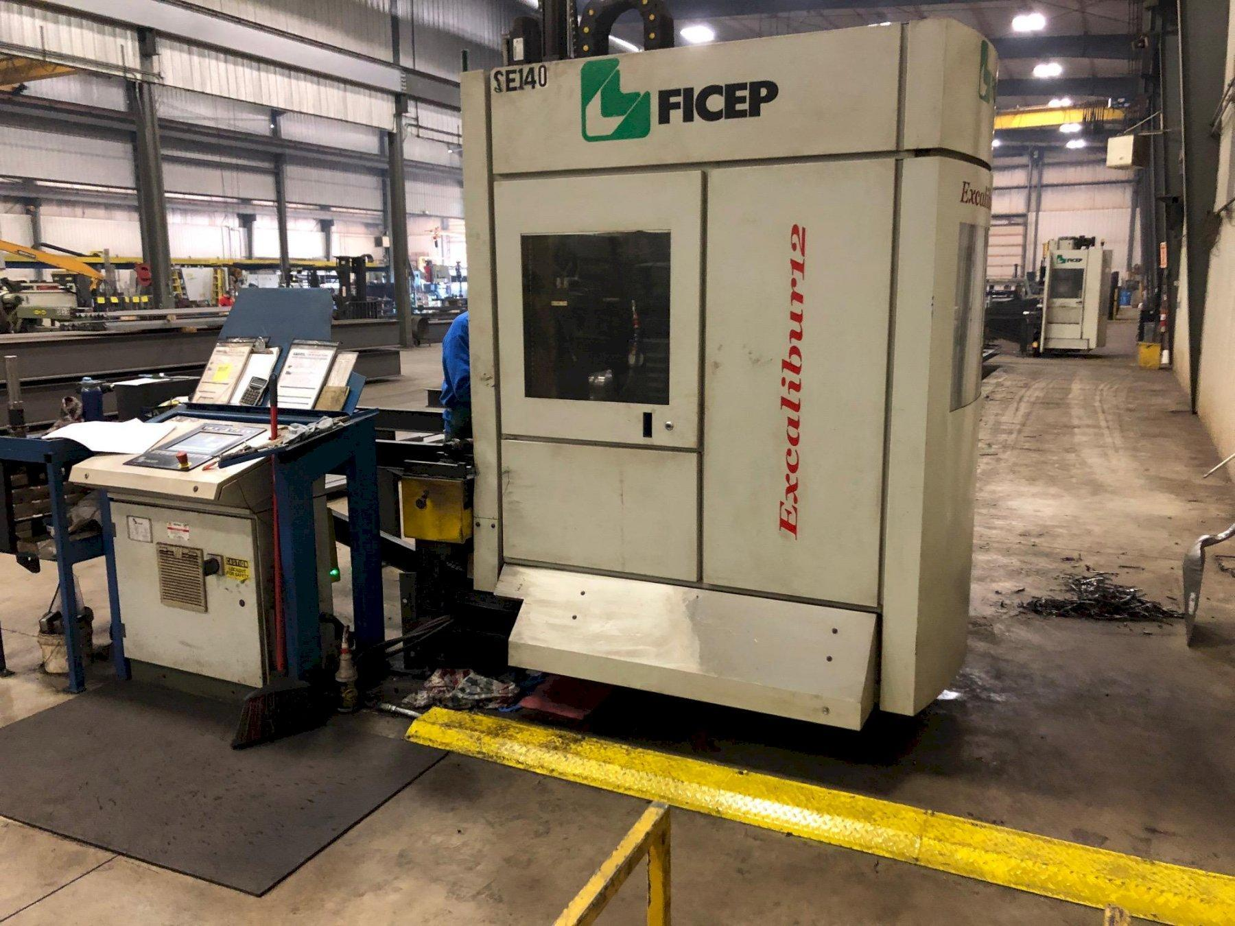 2013 FICEP EXCALIBUR 12 SINGLE SPINDLE DRILL LINE. STOCK # 0520021