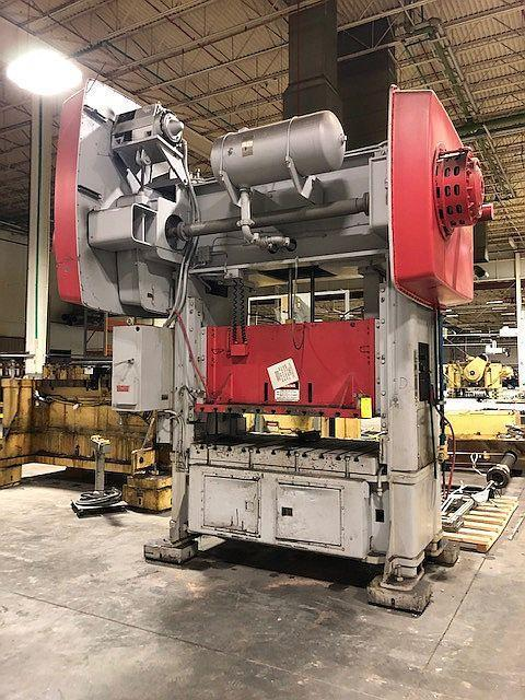 150 ton Niagara SE2-150-72-48 Straight Side Press, New 1989