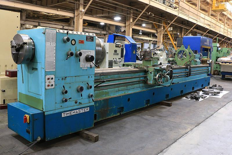 "24""/38"" x 240"" TIMEMASTER/GURUTZPE MODEL SUPER M 350/6000 GAP BED ENGINE LATHE"