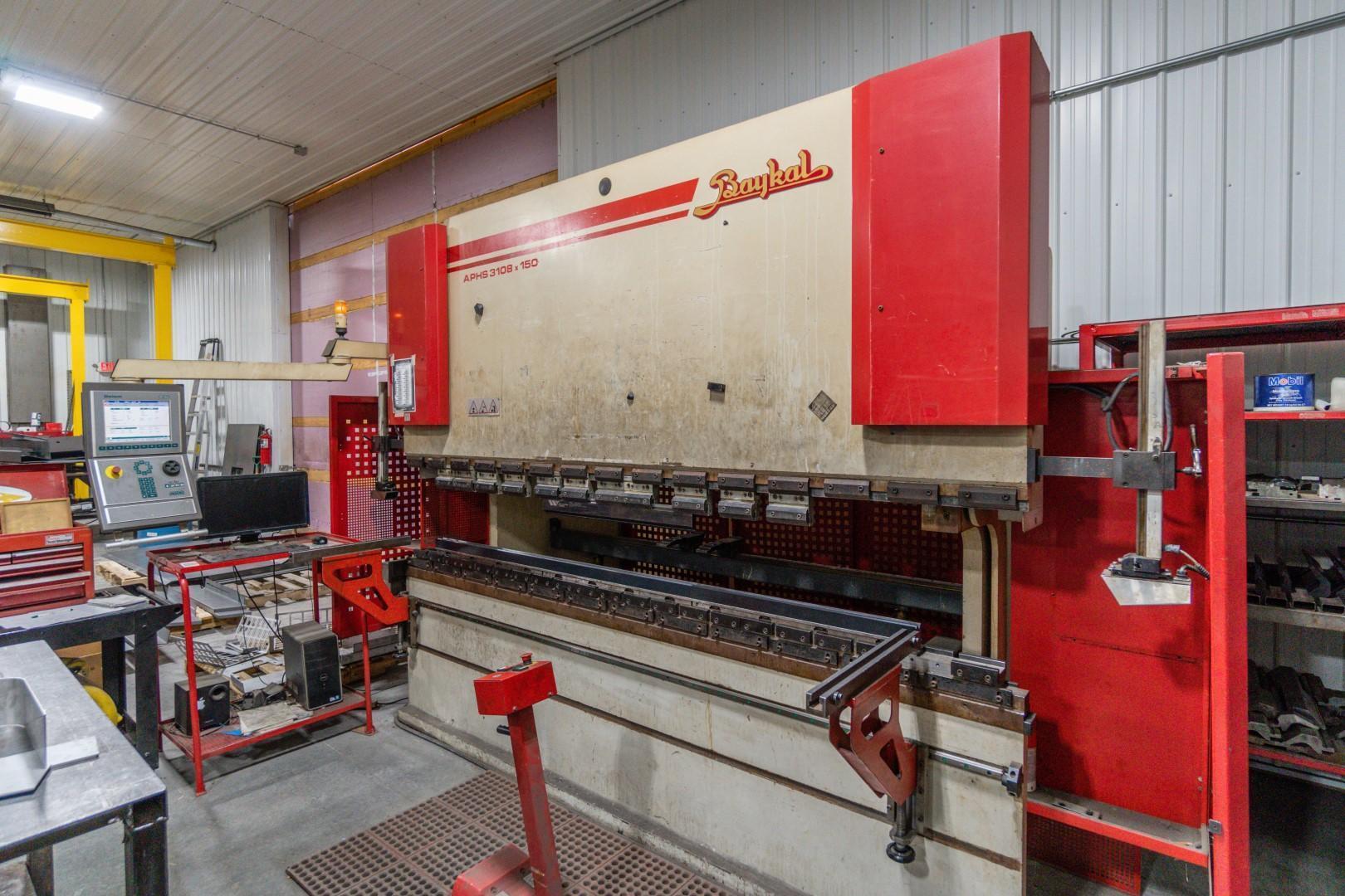 2006 Baykal APHS 3108x150, 10' x 150 Ton, CNC Press Brake
