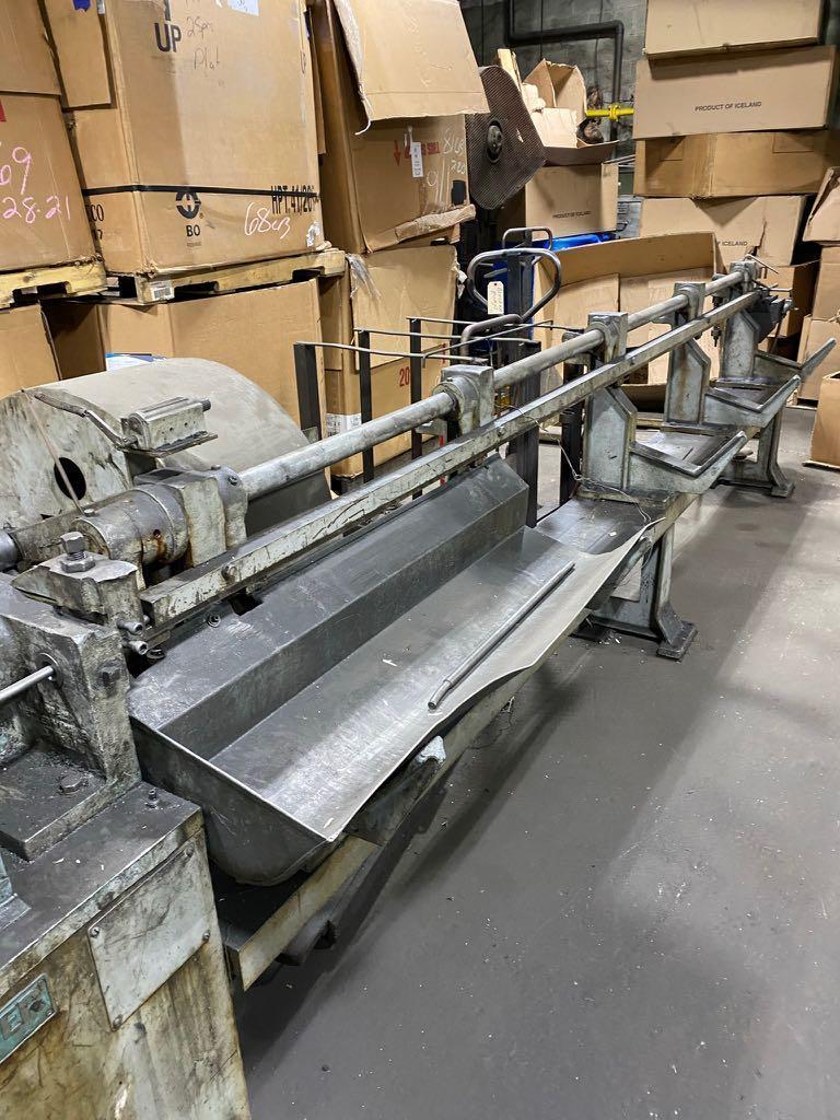 """1/2"""" Shuster Model 3AV Wire Straightener and Cutting Machine"""