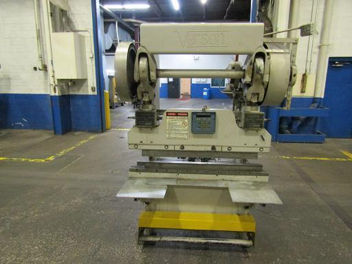 45 TON VERSON MDL. 2038 MECHANICAL PRESS BRAKE   Our stock number: 114467
