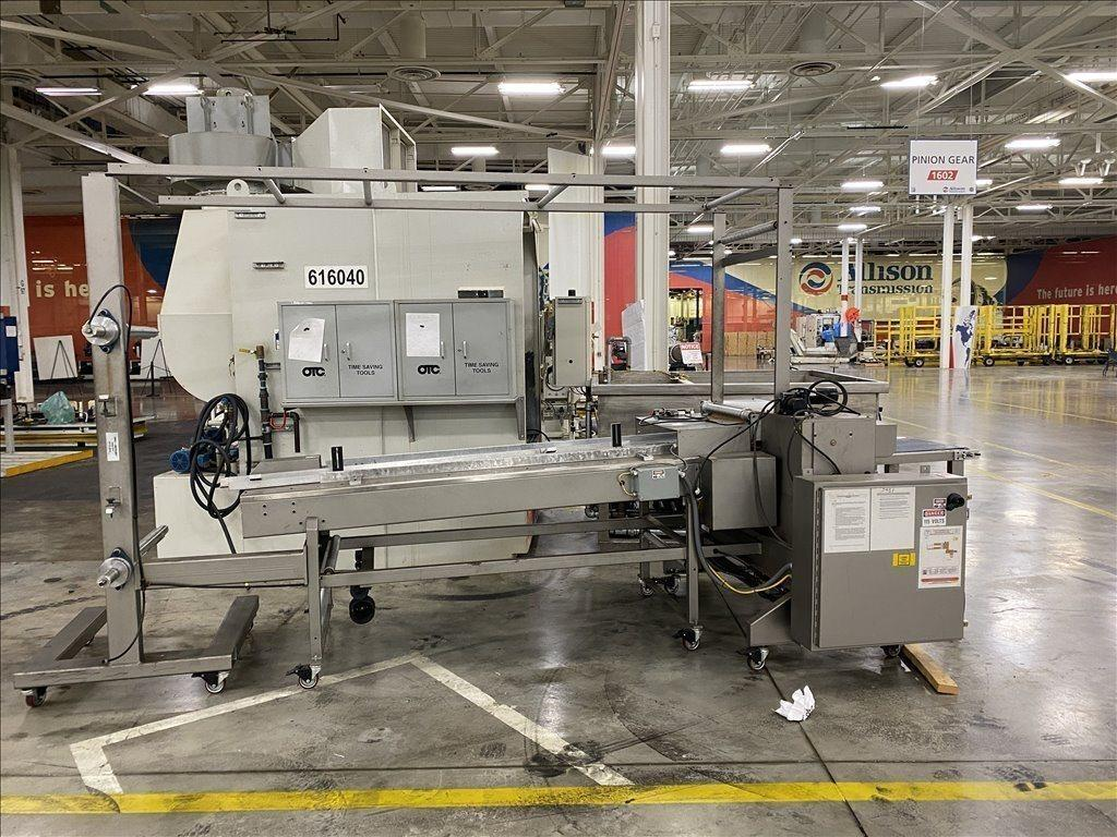 System Packaging - Model 9000-24 Cold Seal Wrapper / Packaging Machine Horizontal Flow Wrapper