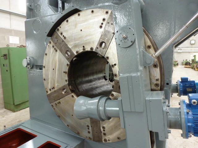"""26"""" x 1.5"""" Wirth Pipe Re-Cut Machine"""