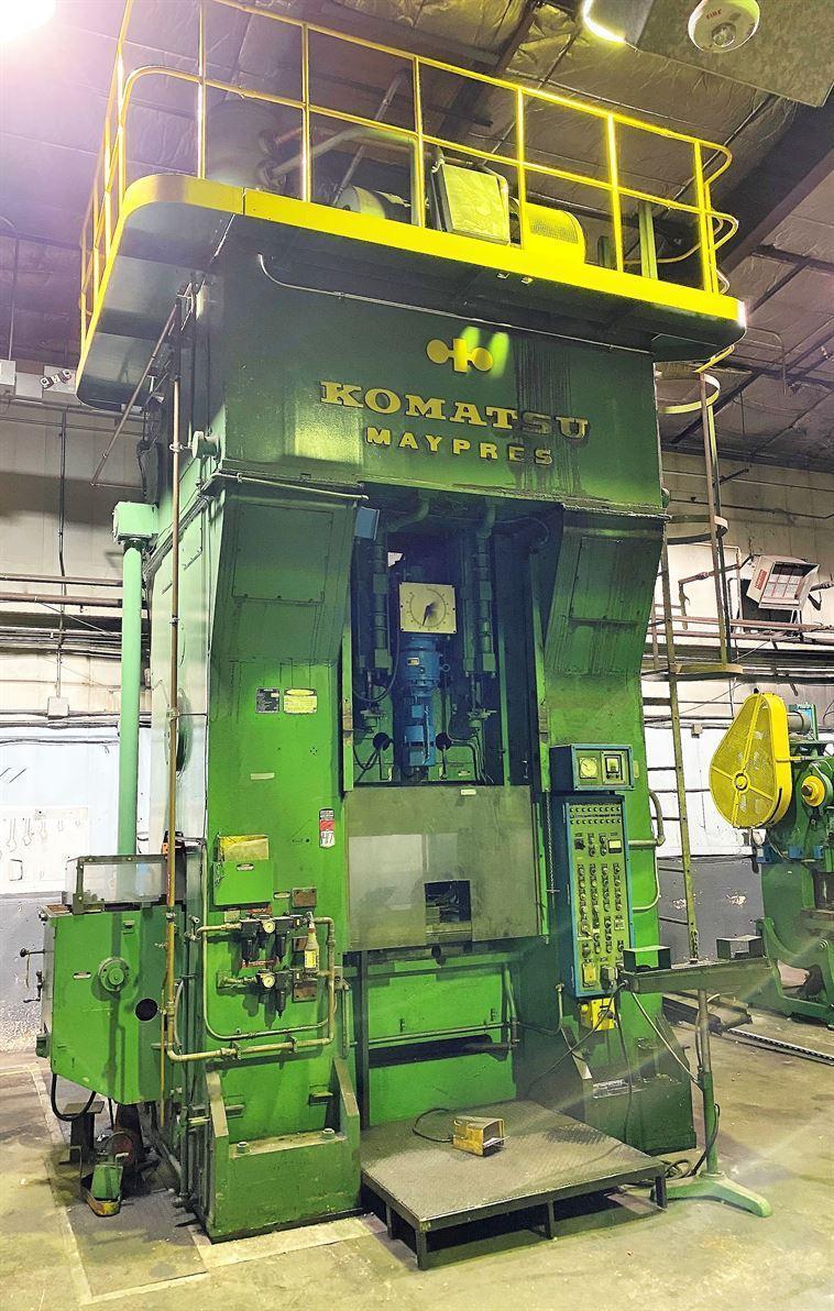 630 Ton Komatsu Forging Press