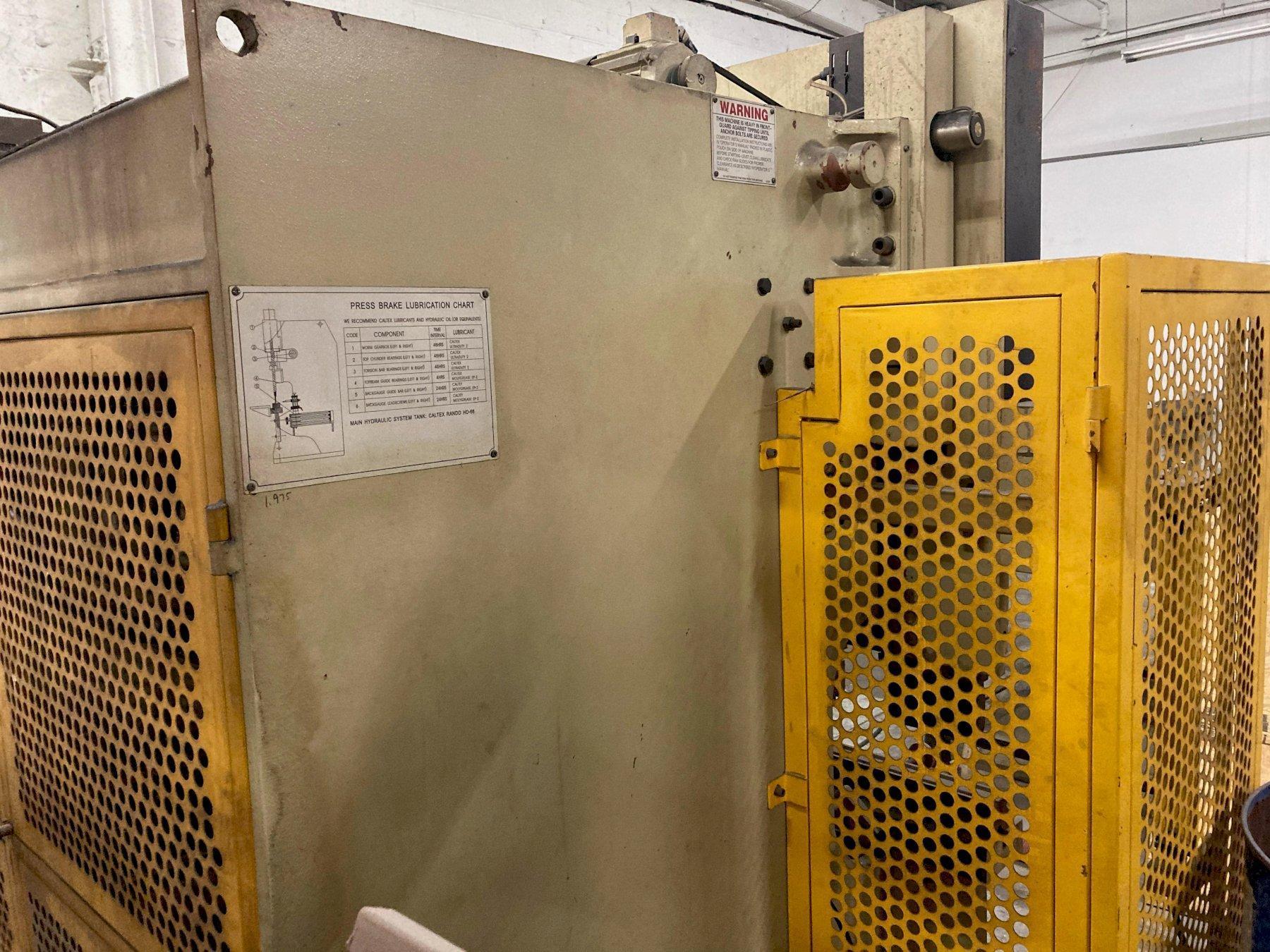 """44 TON X 78"""" U.S. INDUSTRIAL US446 CNC HYDRAULIC PRESS BRAKE. STOCK # 0530121"""