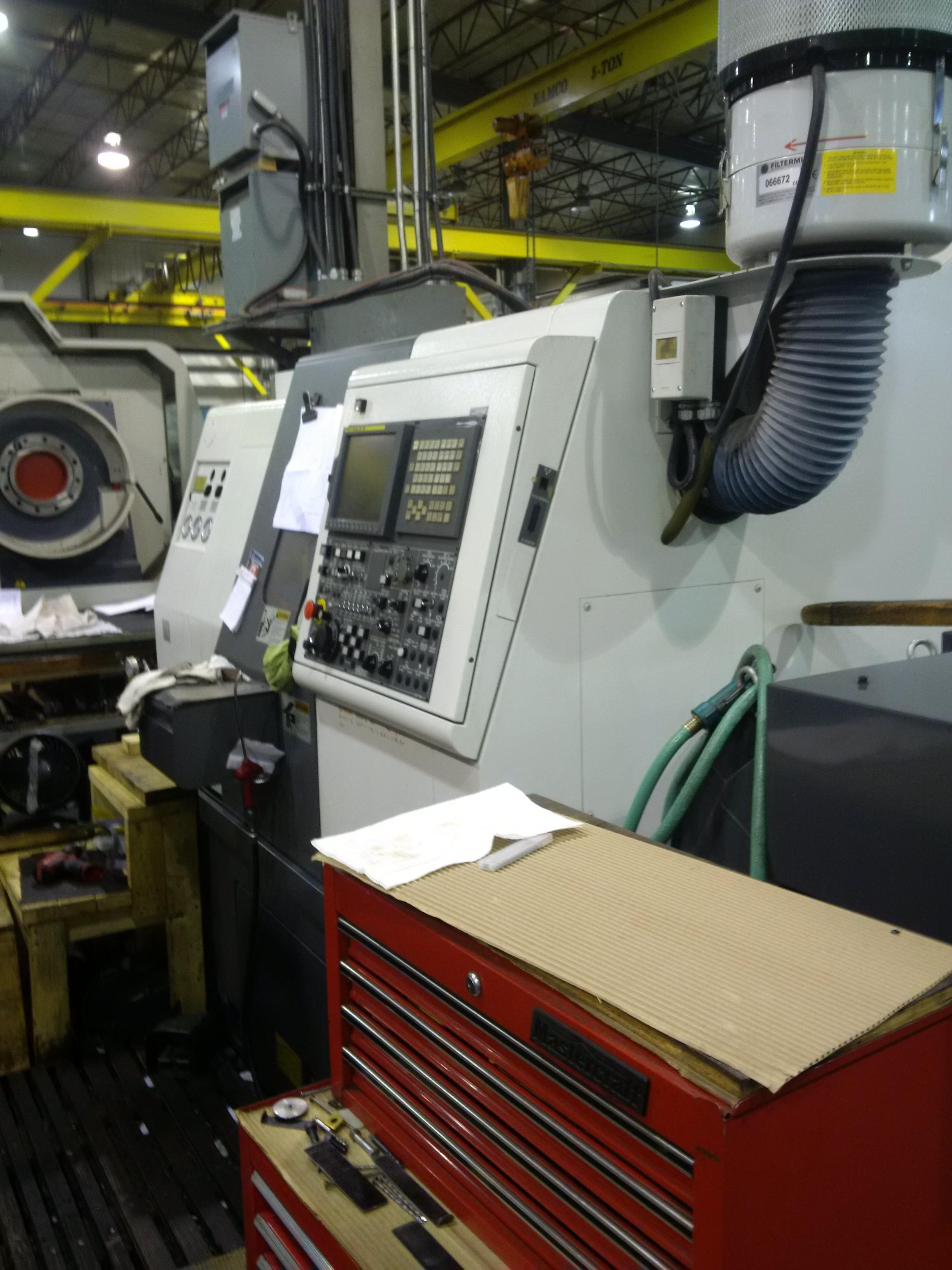 "Nakamura Tome SC200LY CNC Lathe, Fanuc 21iTB Control, 8"" Chuck, 20.8"" Centers, 2.5"" Bar Capacity, Milling, 12 Position Turret, Parts Catcher, Box Way Design, Chip Conveyor, 2012"