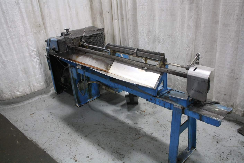1/4' GC PATTERSON MODEL NA75 WIRE STRAIGHTENING & CUT MACHINE: #67746