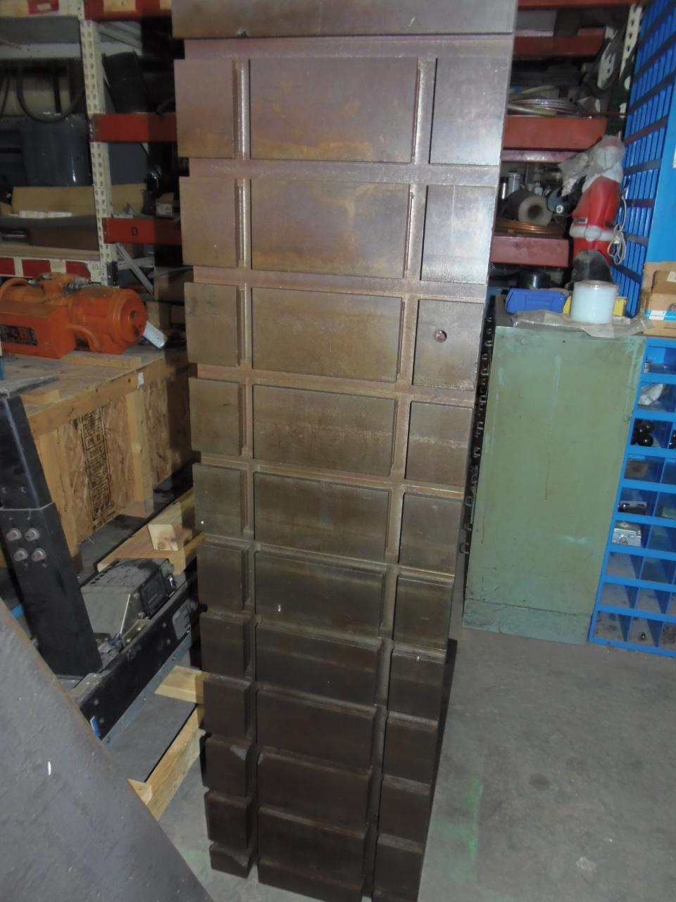 "18"" x 66"" x 36"", ANGLE PLATES, SET OF 2, 3"" FACE THICKNESS"