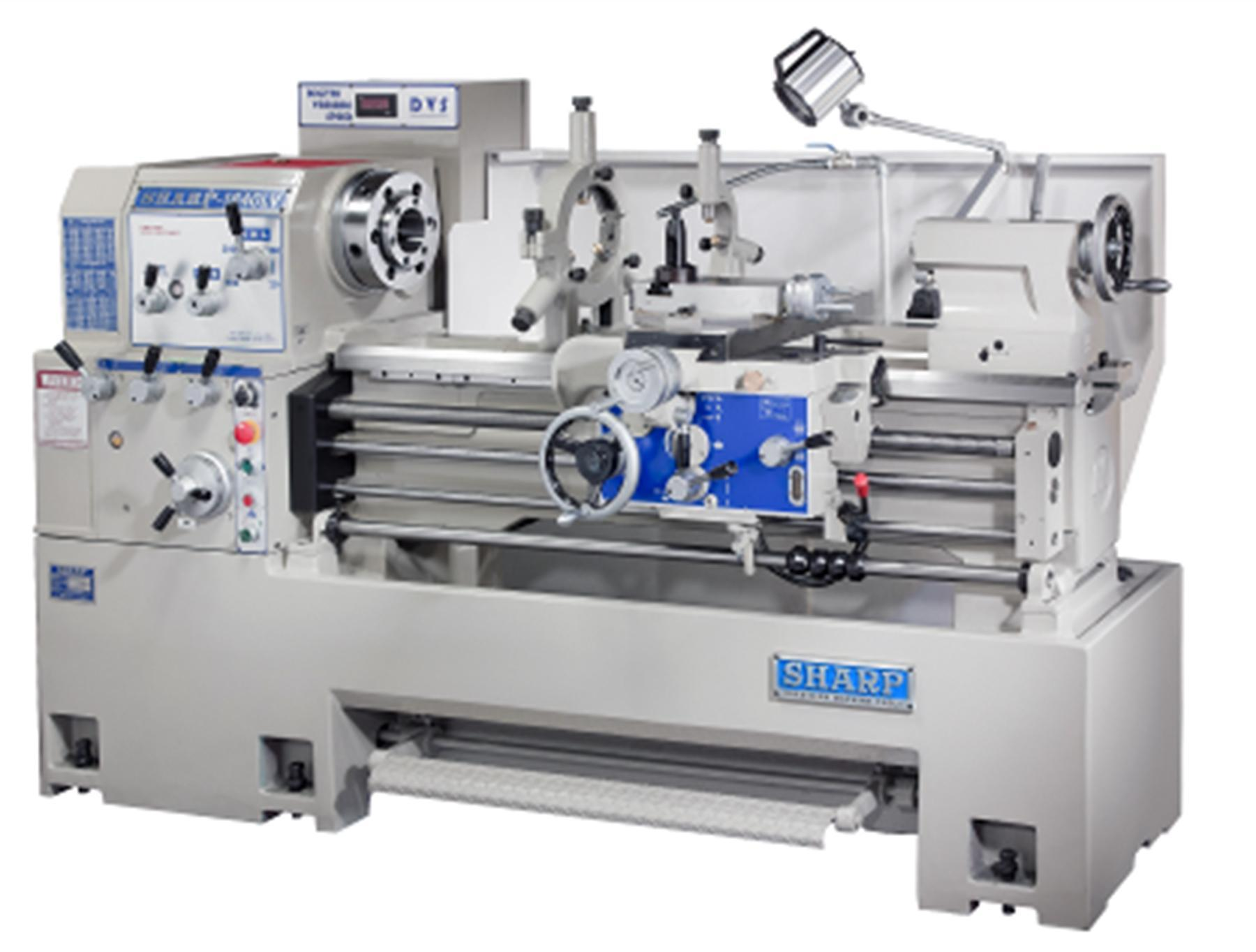 NEW, SHARP MODEL 1640LV PRECISION LATHE