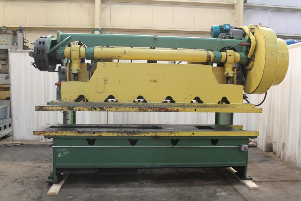 80 TON ALCECO GAP PRESS: STOCK #10935
