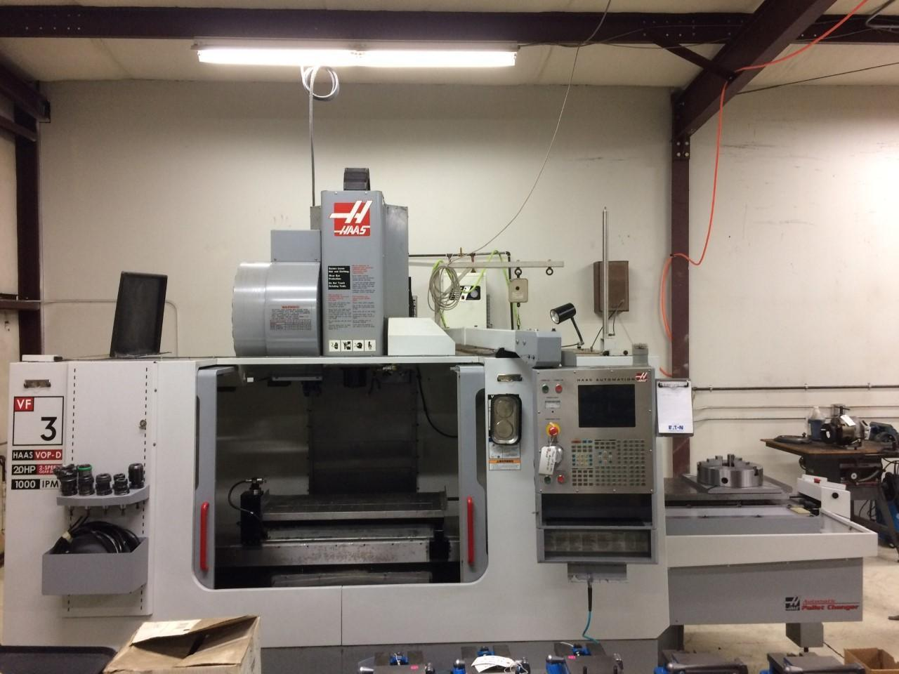 2005 HAAS VF-3 APC VERTICAL MACHINING CENTER